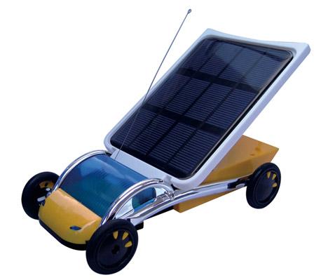 太阳能汽车实验